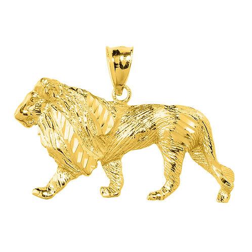Lion Full Body Pendant