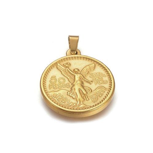 Peso Coin Charm
