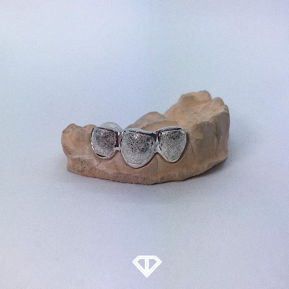 Silver (.925) 3pc w/ Diamond Dust Finish