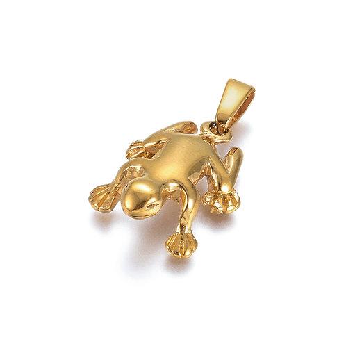 3D Frog Charm
