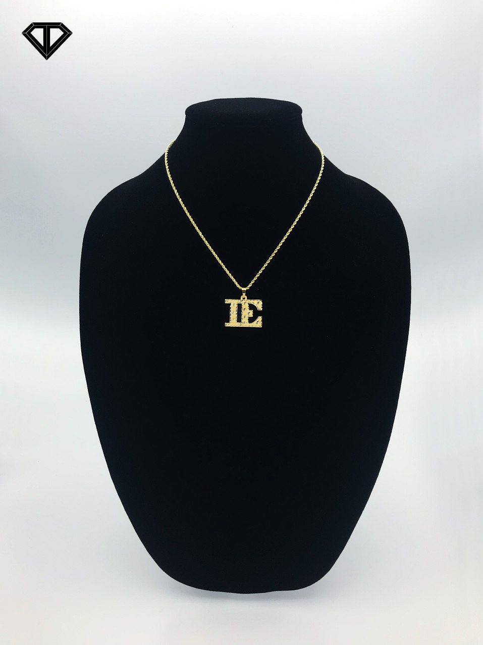 "10k ""IE"" Necklace"