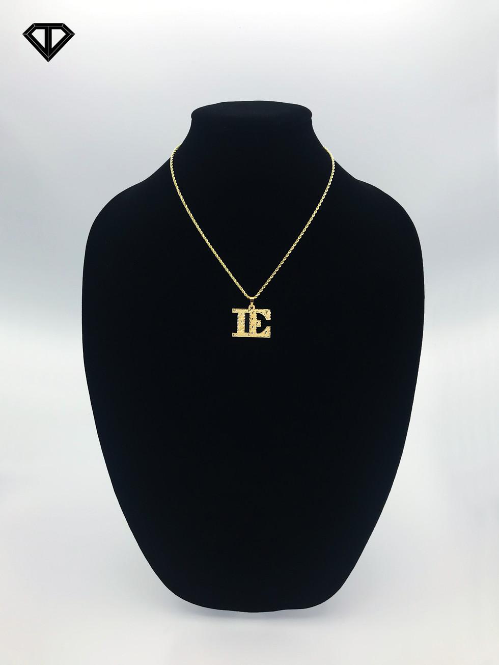 "10k ""IE"" Necklace"
