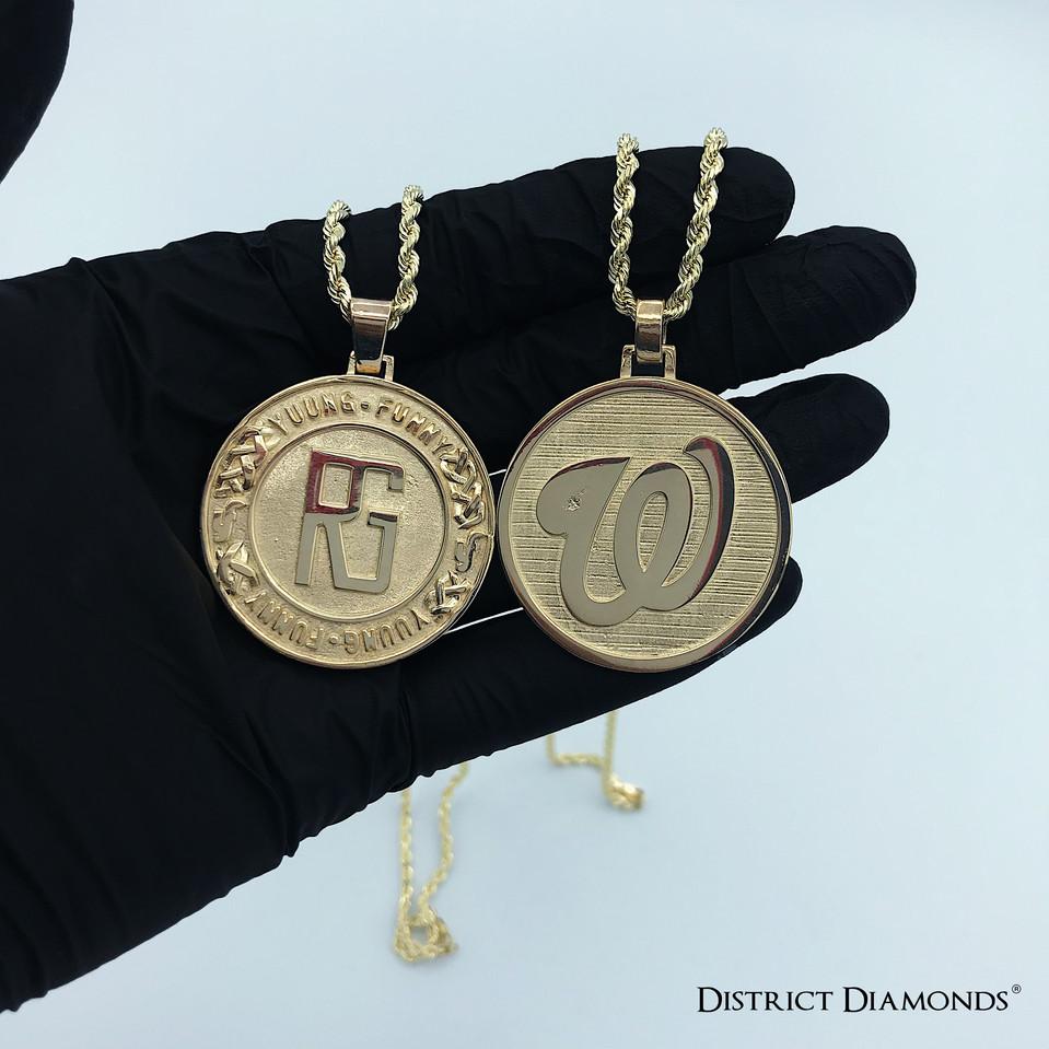 Custom 10k Medallion Chains