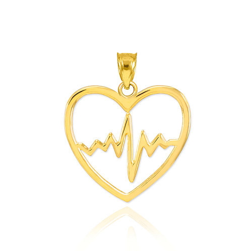 Heart Pulse Pendant