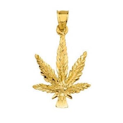 Marijuana Leaf Pendant