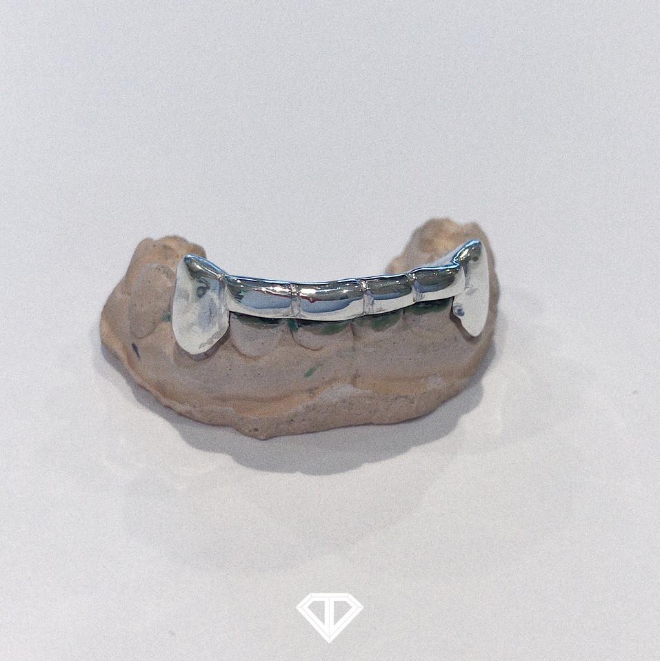 Silver (.925) Bottom Bridge Set w/ Perm Cuts