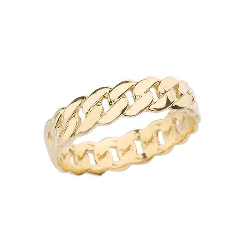 5mm Cuban Link Eternity Ring