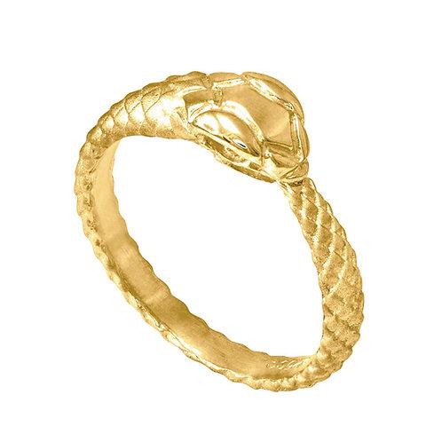 Snake Ring Textured