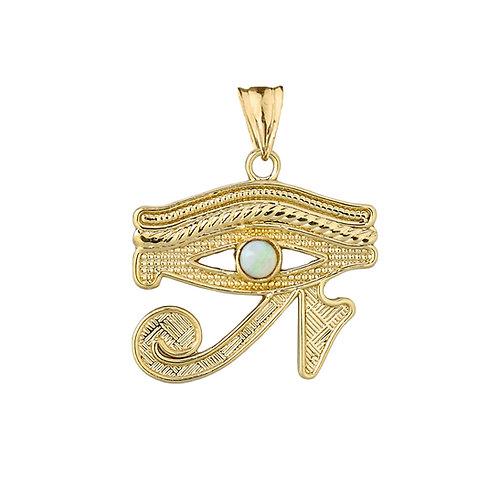 Eye of Ra w/ Opal Pendant