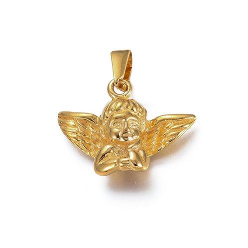 Winged Angel Charm