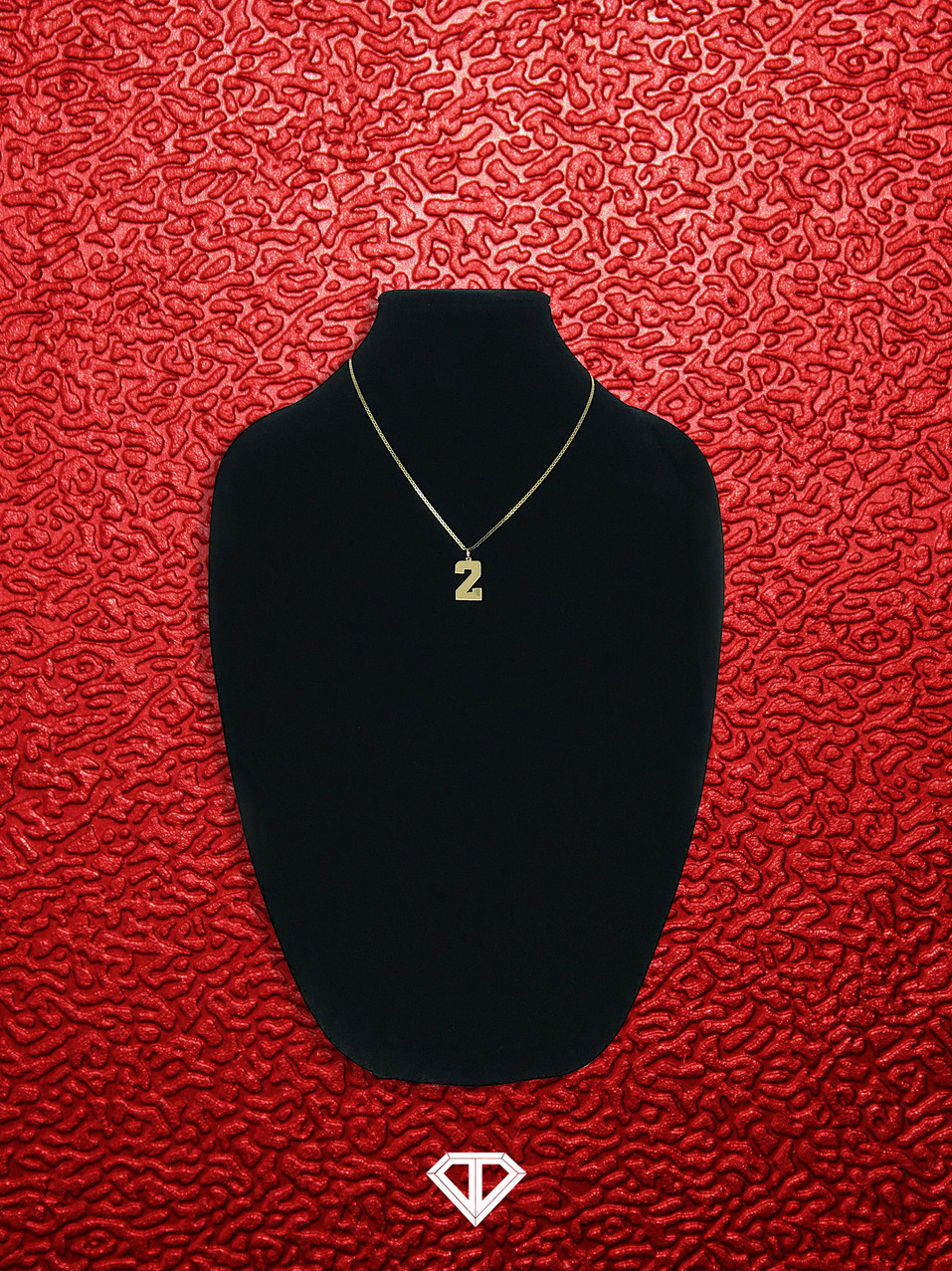 "10k ""2"" Necklace"