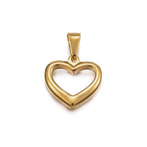 Open Heart Charm