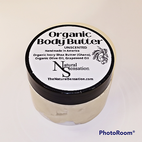Unscented Organic Body Butter