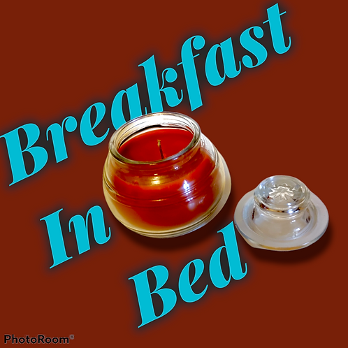 Breakfast In Bed Jar Candle With Lid