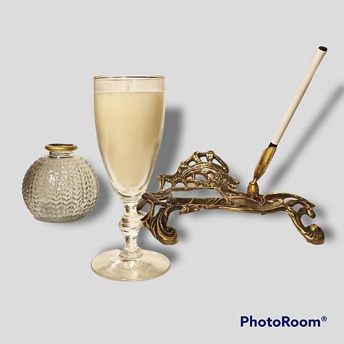 Lunar Eclipse Champagne Flute Candle