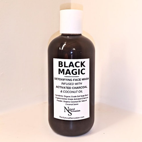 Black Magic: Detoxifying Facial Cleanser