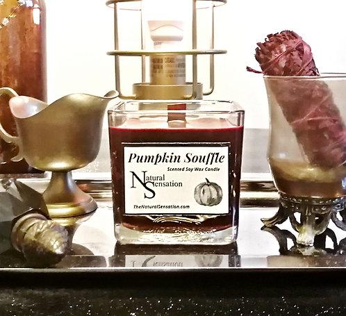 Pumpkin Souffle Wooden Wick Candle