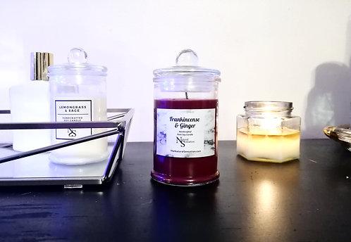 Frankincense & Ginger Soy Candle