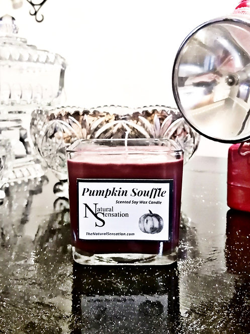 Pumpkin Souffle Jar Candle