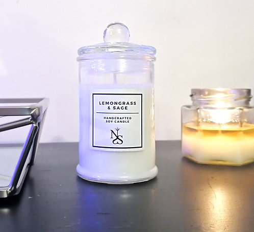 Lemongrass & Sage Candle