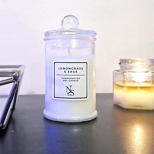 Lemongrass & Sage Candle