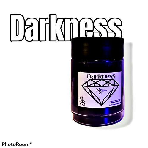 Darkness (Huge Black Double-Wick) Jar Candle