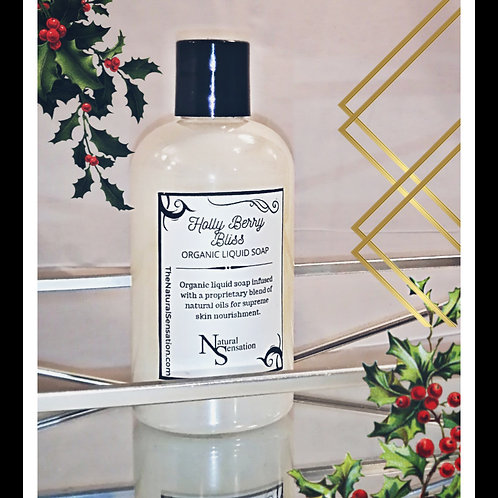 Holly Berry Bliss Liquid Bathroom Soap