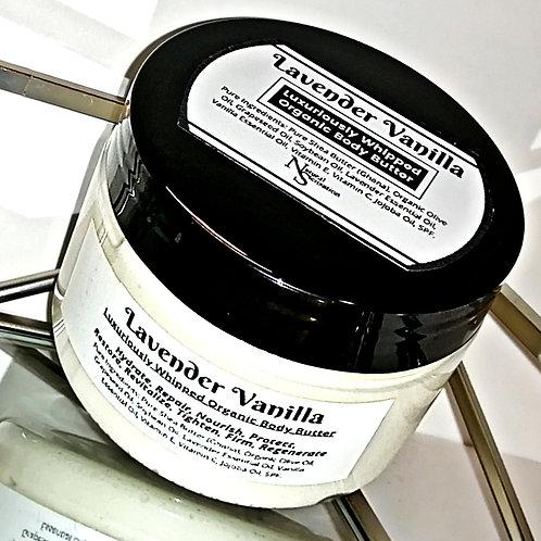 Lavender Vanilla Organic Body Butter