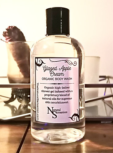 Glazed Apple Cream Organic Body Wash