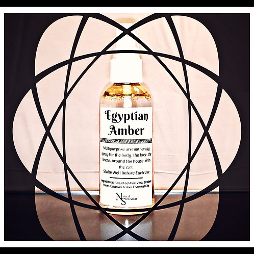 Egyptian Amber Body & Room Spray