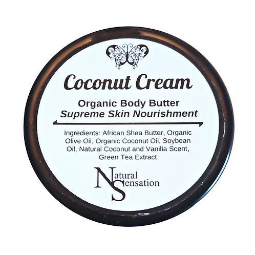 Coconut Cream Organic Body Butter