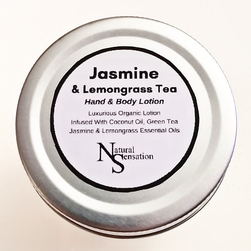 Jasmine & Lemongrass Green Tea Hand & Body Lotion