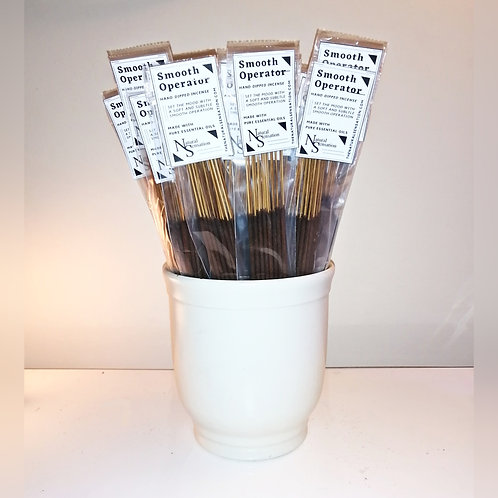 Smooth Operator Hand-Dipped Incense