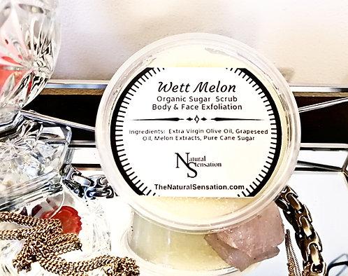 Wett Melon Organic Sugar Scrub