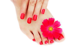 red-manicure-pedicure-with-flower_109543