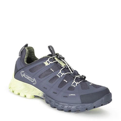 Zapato Selvatica GTX Mujer Anthracite-Aquamarine AKU
