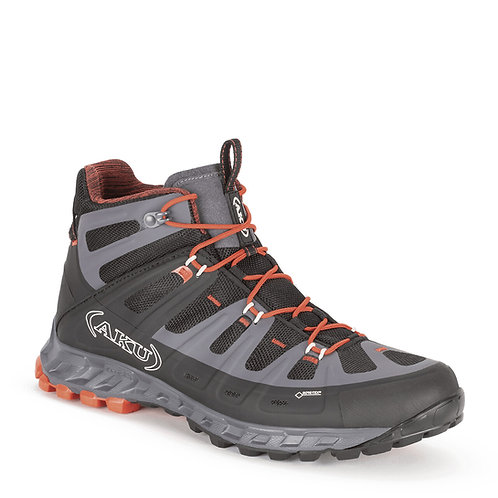 Zapato Selvatica Mid GTX Hombre Black-Red AKU