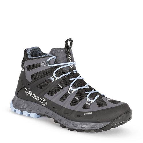 Zapato Selvatica Mid GTX Mujer Black-LightBlue AKU
