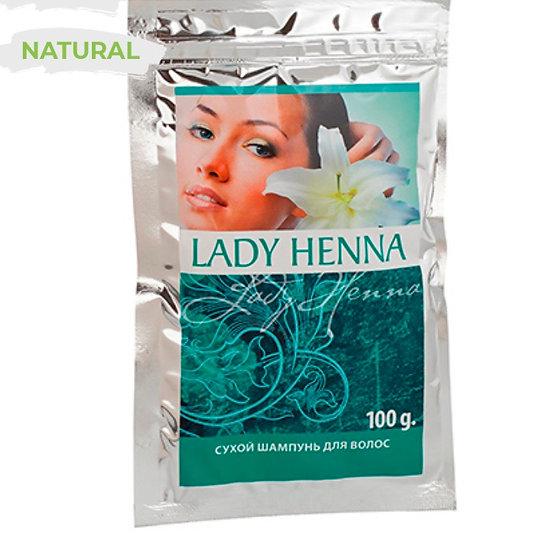 Сухой шампунь для волос Lady Henna для жирных волос
