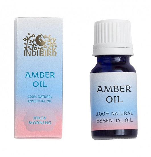 ЭФИРНОЕ МАСЛО АМБЕР (Amber Oil) Indibird, 5 мл