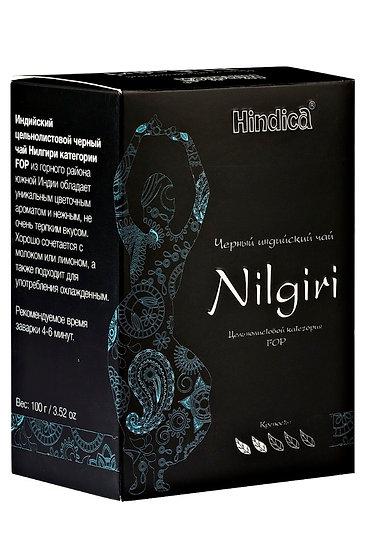 Чай черный Nilgiri (FOP) 100г.