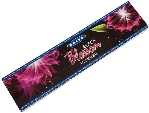 Благовония Черный цветок (Black blossom) Satya