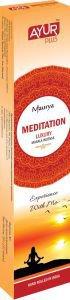 БЛАГОВОНИЯ НАТУРАЛЬНЫЕ АЮР ПЛЮС MEDITATION LUXURY MASALA INCENSE (AYUR PLUS),20г