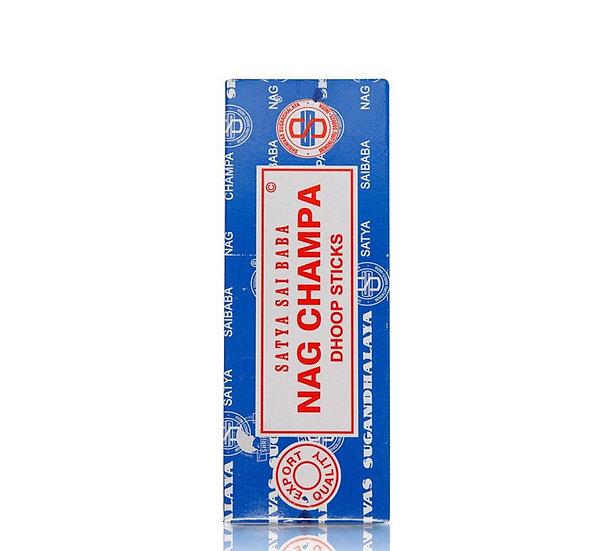 БЛАГОВОНИЯ МАСАЛА Наг Чампа (Nag Champa Agarbatti), SATYA