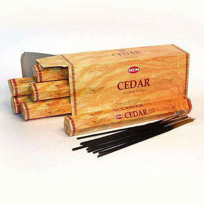 БЛАГОВОНИЯ HEM Кедр (Cedar)