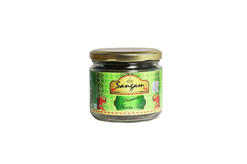 Чай Ассам листовой Премиум, в стекле