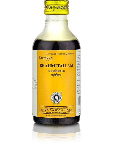 Брахми Тайлам, массажное масло для улучшения умственной деятельности, 200 мл