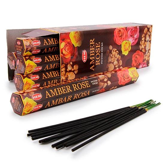 Благовония Амбер Роза (Amber Rose) HEM