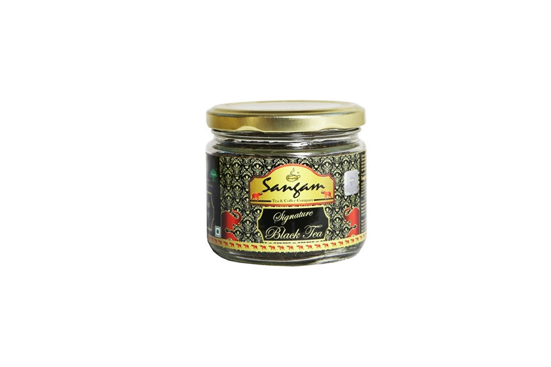 Чай черный (смесь листовой и гранулированный) Сигнатюр, в стекле