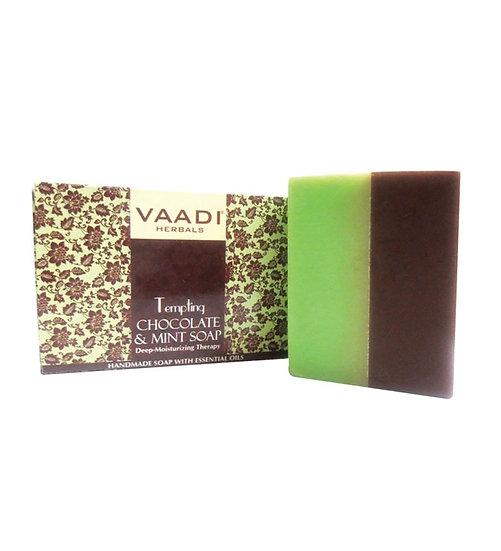МЫЛО СОБЛАЗНИТЕЛЬНОЕ с шоколадом и мятой 75 г Vaadi Herbals